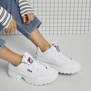 Brand new FILA Disruptor II Premium sneakers
